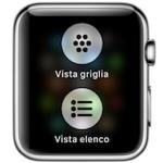 watchOS 4.0: con la modalità vista elenco è più facile trovare le app