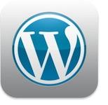 Wordpress icon iOS