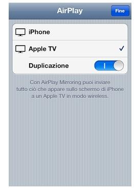 Air Mirroring iPhone 4S