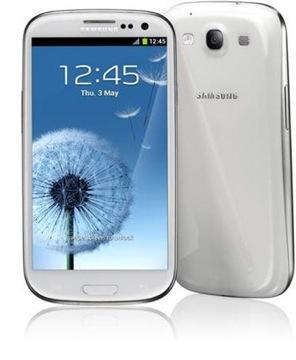 Samsung galaxy S III marble