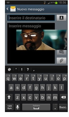 Galaxy S 3 video pop up