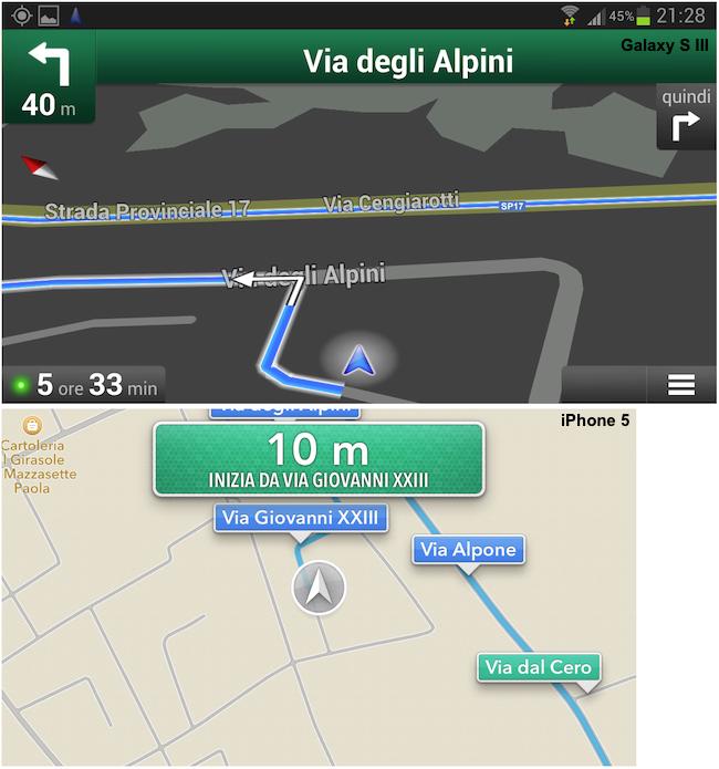 Galaxy S III GPS