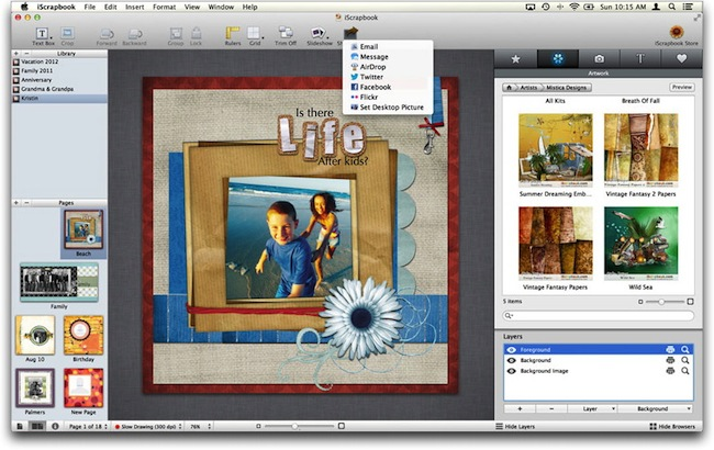 IScrapbook 4 Mac App Store