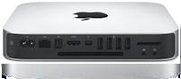 Mac mini 2012 back