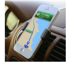 AirFrame auto iPhone