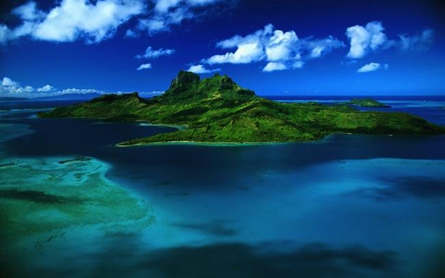 Small islands Caribbean